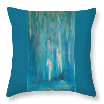 Sarasota Waterfall Throw Pillow