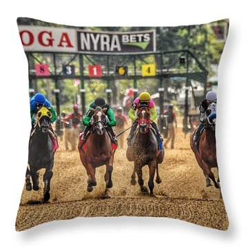 Saratoga Throw Pillow