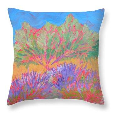 Sarris' Garden 1 Throw Pillow