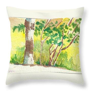 Sarris' Garden 4 Throw Pillow