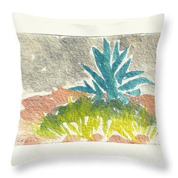 Sarris' Garden 6 Throw Pillow