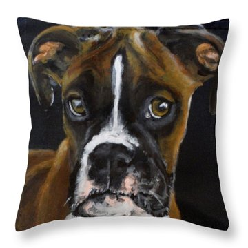 Sasha 2 Throw Pillow