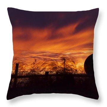 Saskatchewan Throw Pillow