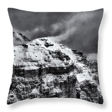 Sass Pordoi - Dolomiti Throw Pillow