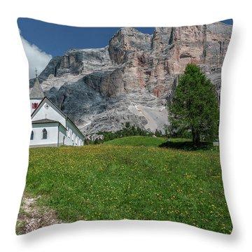 Sasso Di Santa Croce - Italy Throw Pillow