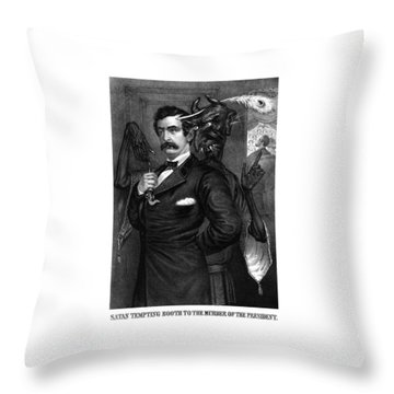 Historical Drawings Throw Pillows