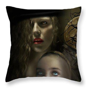 Satiated Throw Pillow