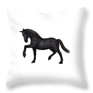 Satin Throw Pillow
