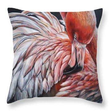 Saturate Throw Pillow