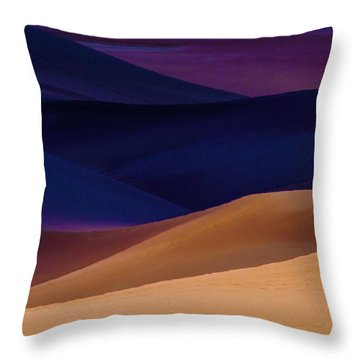 Saturation Throw Pillow