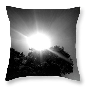 Saturday Sunshine On A Charleston Morning Throw Pillow