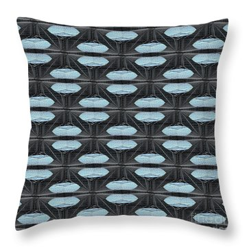 Saucers Throw Pillow
