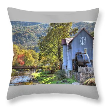 Saunooke Mill Throw Pillow