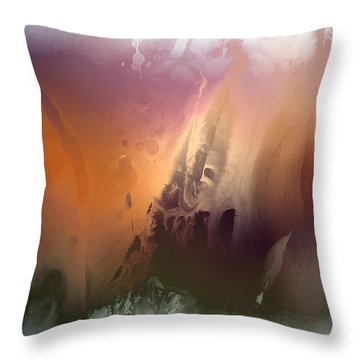 Master Of Illusions Throw Pillow