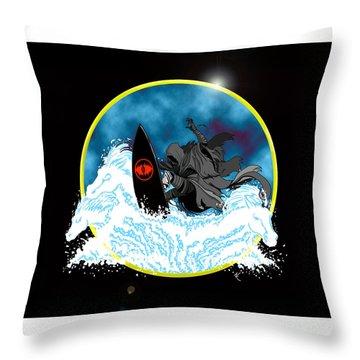 Sauron Jon Throw Pillow