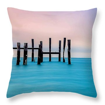 Sausalito Morning Throw Pillow