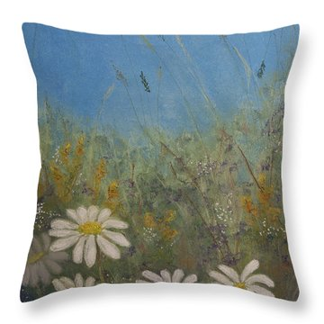 Savage Garden Throw Pillow