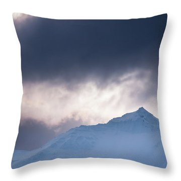 Savage Mountain Throw Pillow