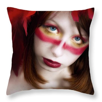 Savage Throw Pillow