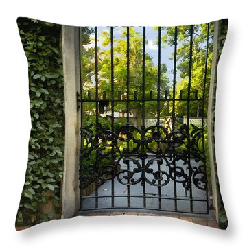 Savannah Gate II Throw Pillow