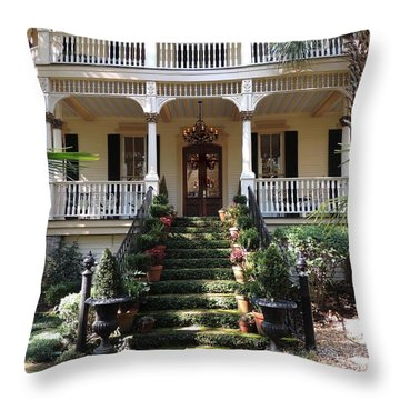 Southern Style Throw Pillow