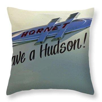 Save A Hudson Throw Pillow