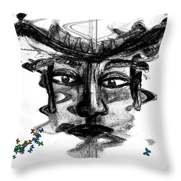 Save Me  Throw Pillow by Sladjana Lazarevic