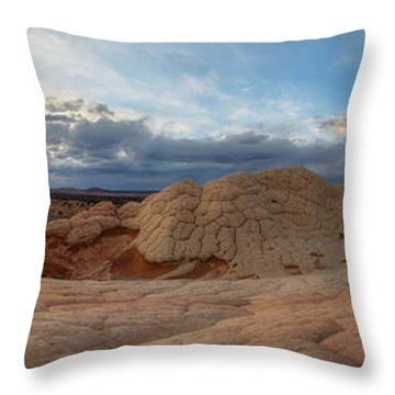 Throw Pillow featuring the photograph Savor The Solitude by Dustin LeFevre