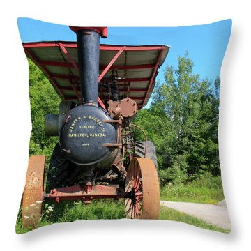 Sawer And Massey Company Throw Pillow