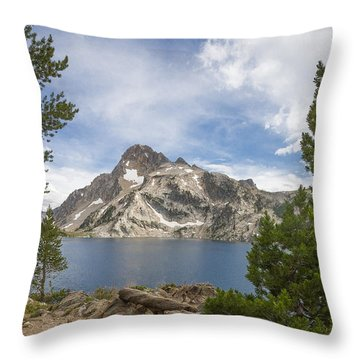 Sawtooth Lake Throw Pillow