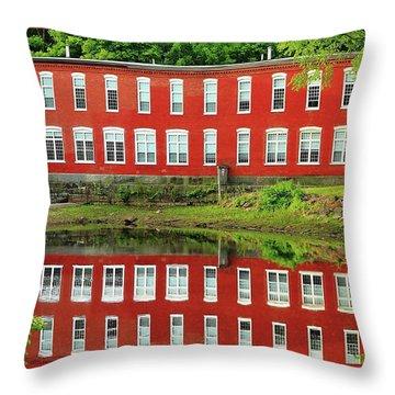 Sawyer Mill Reflection Throw Pillow