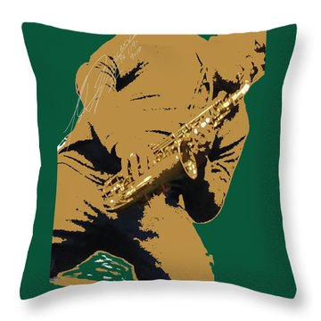 Saxual Passion Throw Pillow