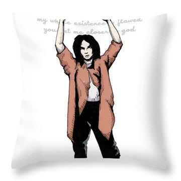 Say Anything Closer Throw Pillow