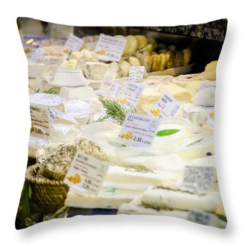 Throw Pillow featuring the photograph Say Cheese by Jason Smith