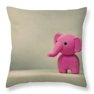 Say Hello To My Little Friend Throw Pillow by Evelina Kremsdorf