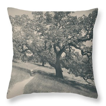 Say You Love Me Again Throw Pillow by Laurie Search