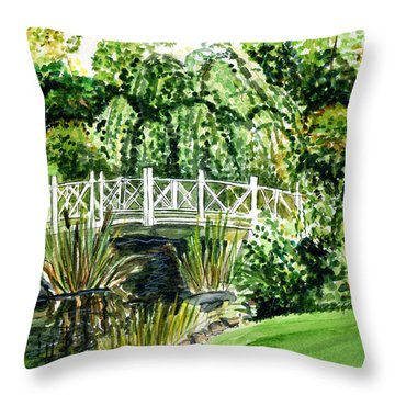 Sayen Bridge Throw Pillow