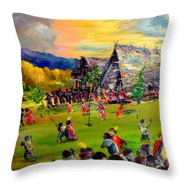 Sbiah Baah Throw Pillow