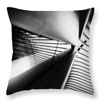 Scale Out Throw Pillow