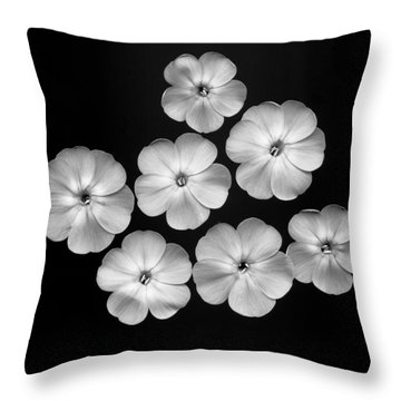 Flox 2 Throw Pillow