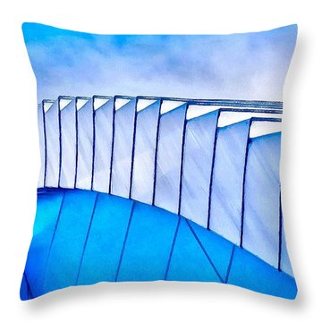 Scaped Glamour Throw Pillow