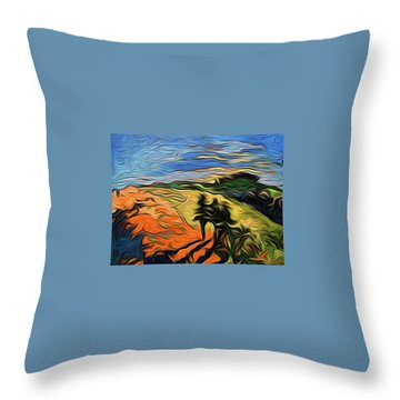 Scapen Shadows Throw Pillow