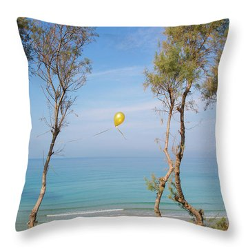 Scapes Of Our Lives #11 Throw Pillow