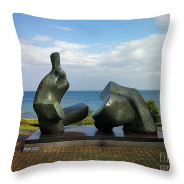 Scapes Of Our Lives #9 Throw Pillow