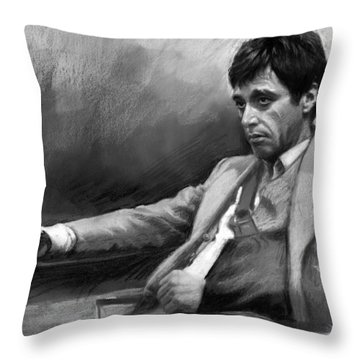 Scarface 2 Throw Pillow