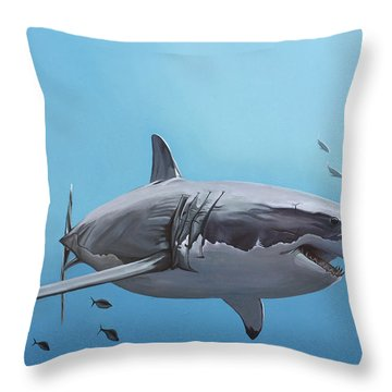 Scarlett Billows Deux Throw Pillow