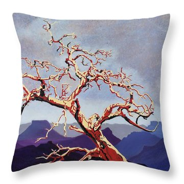 Scarlett's Live Oak Throw Pillow