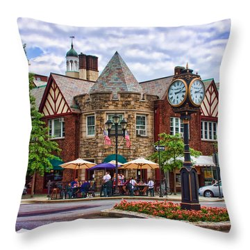Scarsdale New York Throw Pillow
