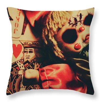 Joker Throw Pillows