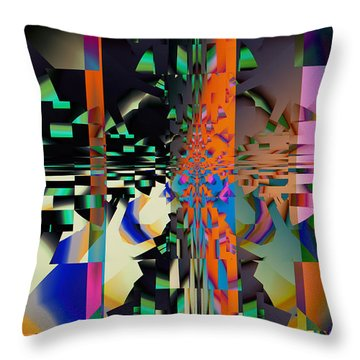 Scattered Dreams Throw Pillow